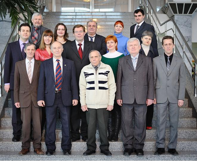 Teachers and staff of department, 2011